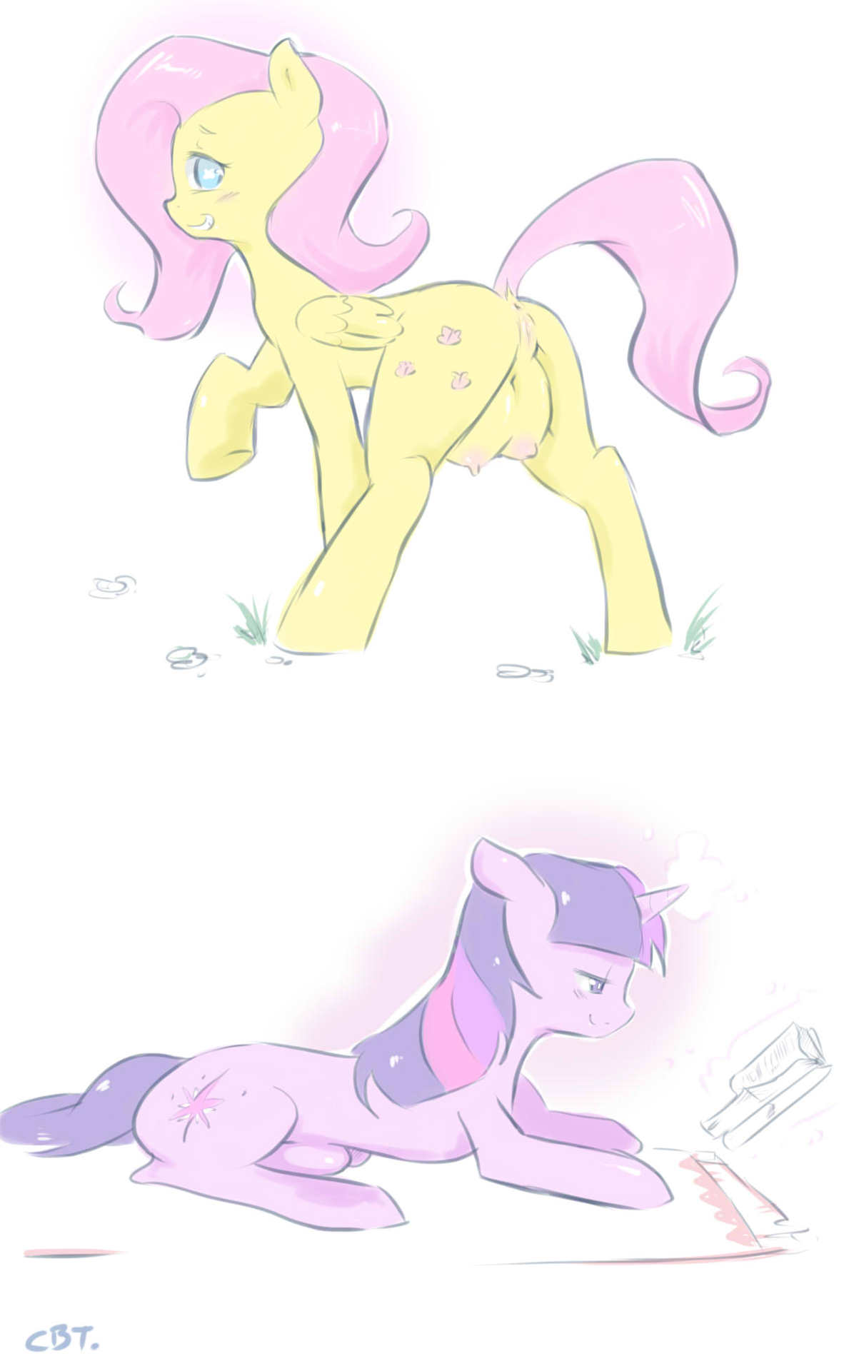 sparkle twilight king sombra x Naked girls from adventure time