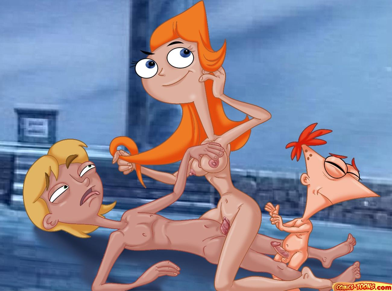 ferb naked candace and phineas Yu-gi-oh! gx
