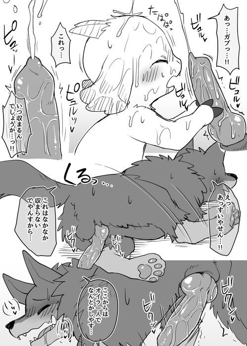 special foxy night one with No thank you yaoi game