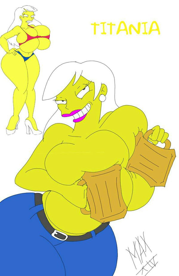 simpsons from marge naked the Suck my dick or die! game