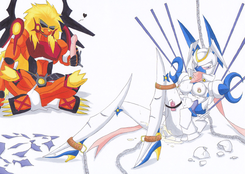 digimon sleuth mirei cyber story Android 21 dragon ball z